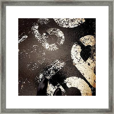 Feet Around The World #22 Framed Print
