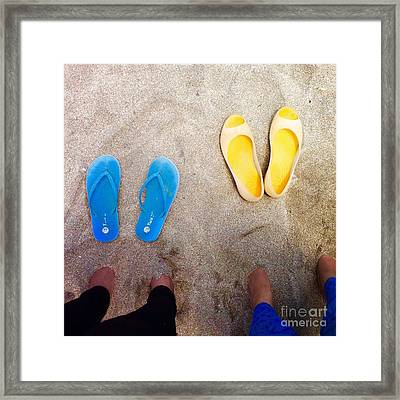 Feet Around The World #23 Framed Print