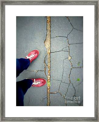Feet Around The World #25 Framed Print