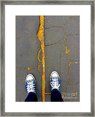 Feet Around The World #26 Framed Print