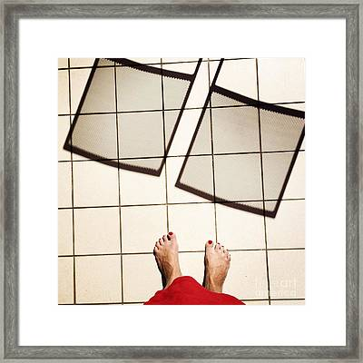 Feet Around The World #28 Framed Print
