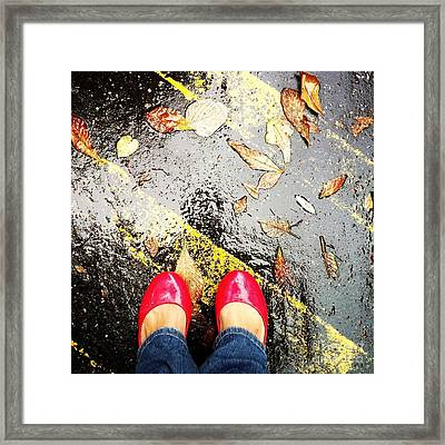 Feet Around The World #29 Framed Print
