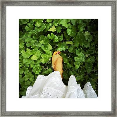Feet Around The World #3 Framed Print