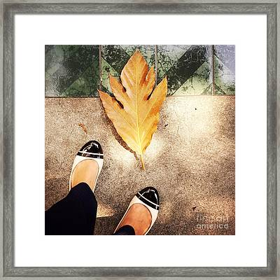 Feet Around The World #30 Framed Print