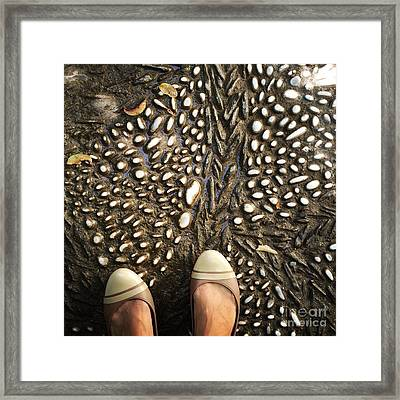 Feet Around The World #32 Framed Print