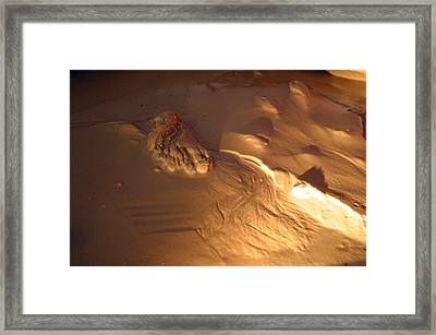 Feet Of Time Fades Away Framed Print by Jez C Self