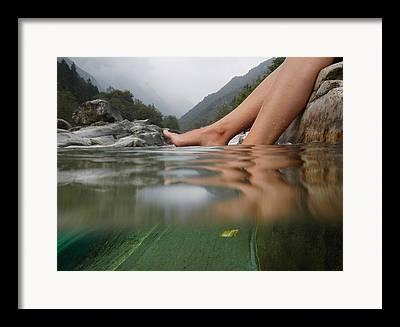 Valley Verzasca Framed Prints