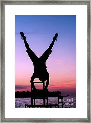 Feet Up Framed Print by Juli Scalzi