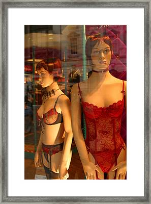 Feisty But For Who Framed Print by Jez C Self