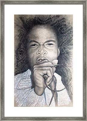Fela  For Ever Lives Afrika Framed Print