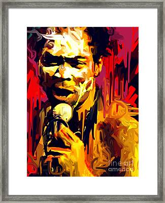 Fela Kuti  Framed Print by Kegya Art Gallery
