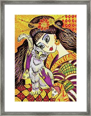 Feline Rhapsody Framed Print