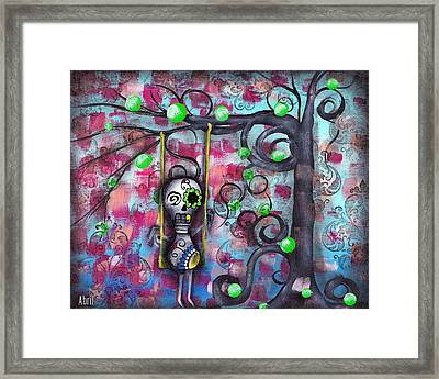 Felipe Framed Print by  Abril Andrade Griffith