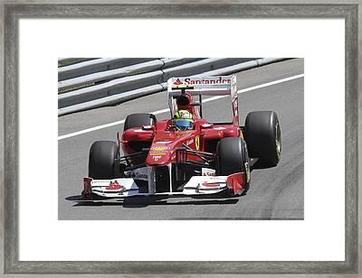 Felipe Massa Framed Print by Art Ferrier