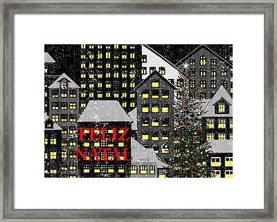 Feliz Natal 1 Framed Print