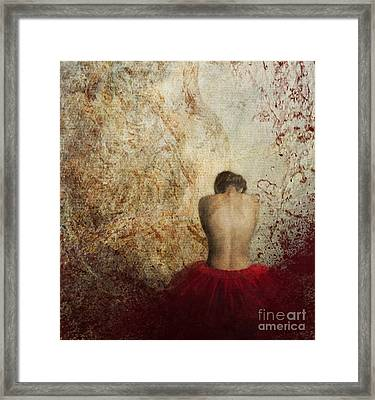 Female Back Framed Print
