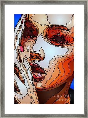 Female Expressions Viii Framed Print