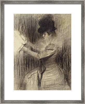 Female Figure Framed Print