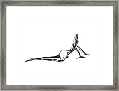 Female Shapes Framed Print by Steve K