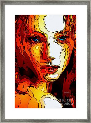 Female Tribute II Framed Print