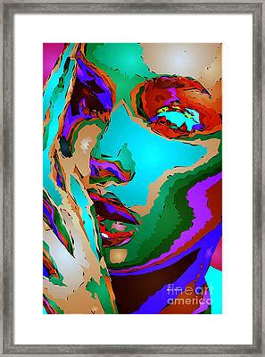 Female Tribute V Framed Print