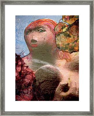Femininity Framed Print by Gail Butters Cohen