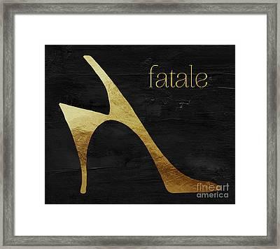 Femme Fatale I Framed Print by Mindy Sommers