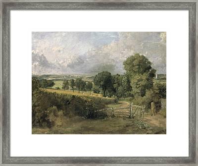 Fen Lane Framed Print by John Constable