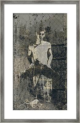 Fences 1 - 2/10 Framed Print