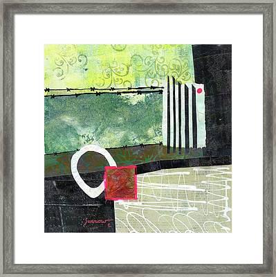 Fences Framed Print by Sue Furrow