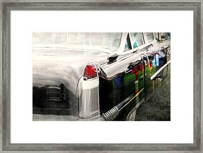 Fender Bender Framed Print by Diana Angstadt