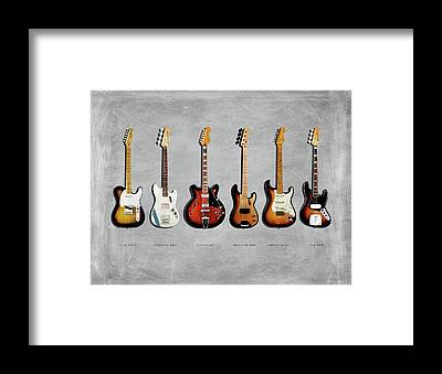 Fender Framed Prints