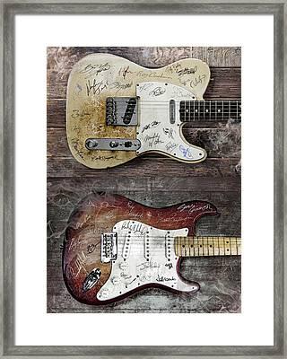 Fender Guitars Fantasy Framed Print