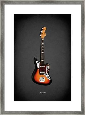 Fender Jaguar 67 Framed Print by Mark Rogan