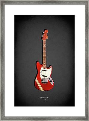 Fender Mustang 70 Framed Print by Mark Rogan
