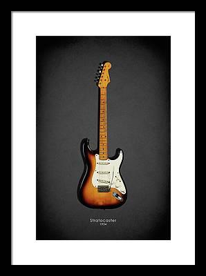Fender Guitar Framed Prints