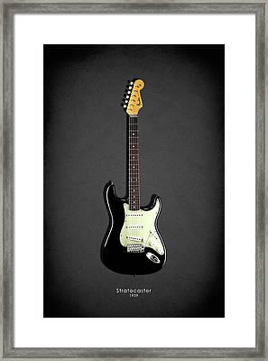 Fender Stratocaster 59 Framed Print by Mark Rogan