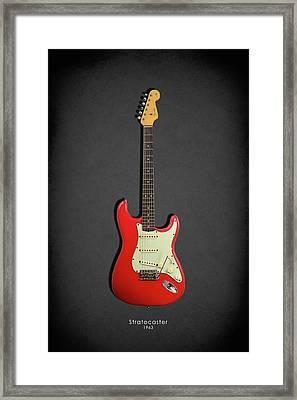 Fender Stratocaster 63 Framed Print by Mark Rogan
