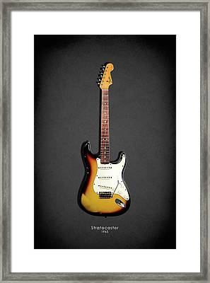 Fender Stratocaster 65 Framed Print by Mark Rogan
