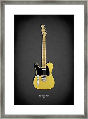 Fender Telecaster 52 Framed Print by Mark Rogan