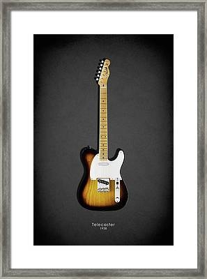 Fender Telecaster 58 Framed Print by Mark Rogan