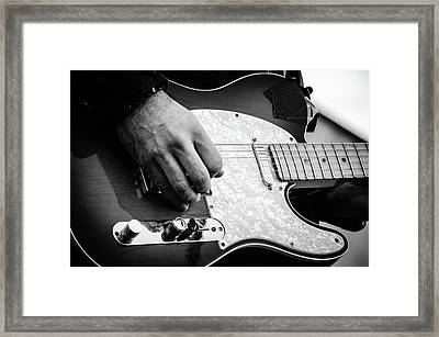 Fender Telecaster On Stage 2 Framed Print by Andrea Mazzocchetti