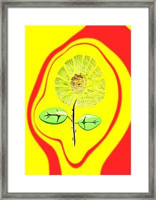 Feng Shui Energy Framed Print