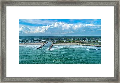 Fenway Beach, Weekapaug,ri Framed Print