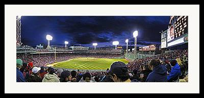 New York Baseball Parks Photographs Framed Prints