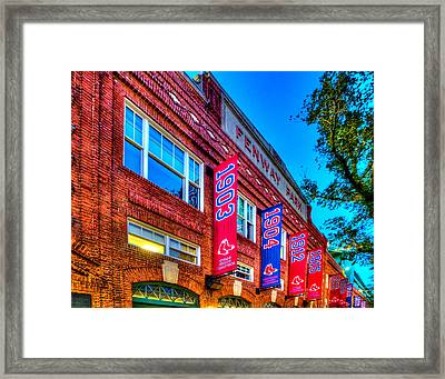 Fenway Park 132 Framed Print by Jeff Stallard