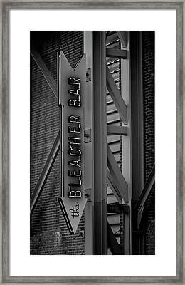 Fenway Park Bleacher Bar - #2 Framed Print