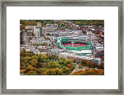 Fenway Park  Boston Red Sox Framed Print