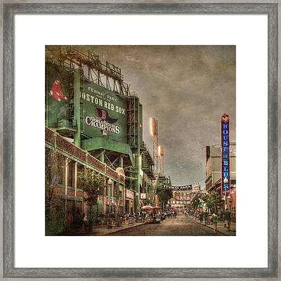 Fenway Park - Boston Red Sox - Lansdowne St Framed Print