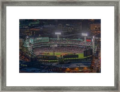 Fenway Park Framed Print by Bryan Xavier